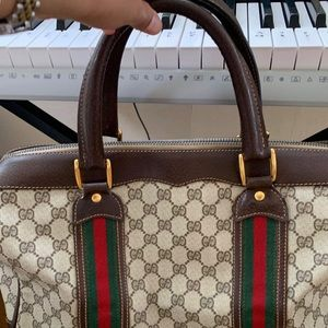Gucci Bags - GUCCI DUFFLE VINTAGE WEEKENDER/ OVERNIGHT BAG